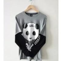 baju kaos lengan panjang panda kickout apparel kick out distro BP 20