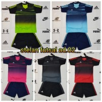 Baju Kaos Olahraga Jersey Bola Setelan Futsal Adidas AD.02