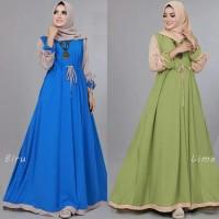 Baju Muslim Renata Baju Gamis Maxi Dress Baju Perempuan Shofia