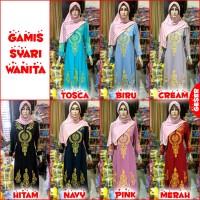 Baju Gamis Syari Wanita BORDIR EMAS