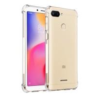 Softcase Anticrack Xiaomi Redmi 6 / 6A Casing Jelly Case Bening
