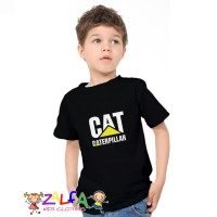 Tshirt Baju Kaos Anak Anak Caterpillar by Zalfa Kids