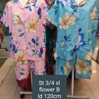 Piama/baju tidur dewasa/st 3/4 xl