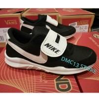 Sepatu sport Nike yeezy anak-anak black & white DMC13 edition