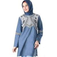 IN 8SGB05 New Atasan Wanita Baju Lebaran Sarimbit Muslimah Koko Couple