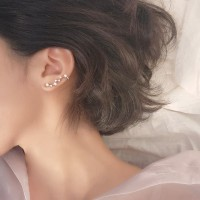 Dear Me - Bella Earrings (925 Sterling Silver with Zirconium Crystals)