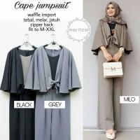 Pakaian Wanita / Cape Jumpsuit / Gamis Muslim Wanita