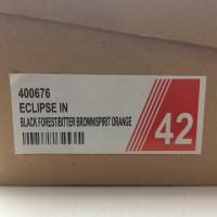 Sepatu Futsal Specs Original Eclipse In Black Bitter Brown 400676 Bnib
