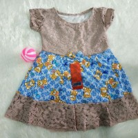 brukat anak 1-2 tahun motif random baju anak perempuan baju harian