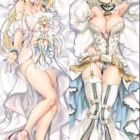 Sarung Bantal Peluk Dakimakura Anime Fate StayNight Saber Bride 110x40