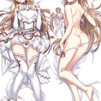 Sarung Bantal Peluk Dakimakura Anime Sword Art Online Asuna SAO 110x40