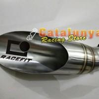 Knalpot Racing Recefit Slash Fullsystem R25 , Ninja 250 , CBR 250