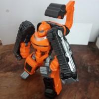 Tobot Athlon Mini Rocky - Excavator Transformer