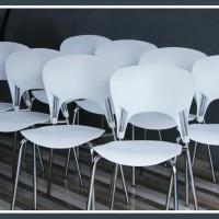 kursi cafe turkey kursi kafe putih crome kursi pameran kantin pujasera