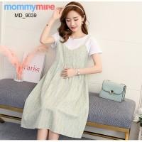 Mommymine Baju Hamil / Dress Hamil Menyusui Impor (MD_9039)