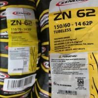 Ban Zeneos Tubeless 110/70-14 Dan 150/60-14 Paket Depan Belakang ZN62