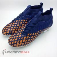 Sepatu Bola Mitre Original Invader Fg Navy Citrus Orange T01010002