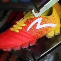 Sepatu Bola Specs Equinox Fg Emperor Red Yellow Original