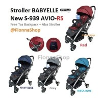 Stroller Kereta BabyElle Avio RS Reversible 928 Hadap Depan Belakang