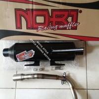 Knalpot NOBI Standart Racing Honda Beat atau Beat FI Limited