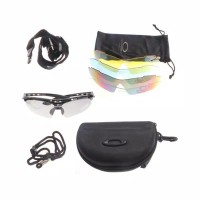 Kacamata Hitam Sport 5 Warna untuk Bersepeda / Outdoor