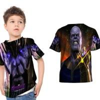 kaos baju anak custom Thanos