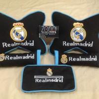Bantal mobil real madrid/barcelona/bantal murah/bola/persib