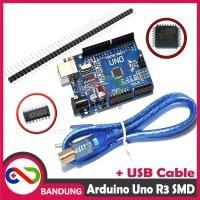 [CNC] ARDUINO UNO R3 SMD CH340 ATMEGA328P PLUS USB & PIN HEADER