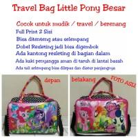 Tas Travel Bag Koper Renang Anak Karakter Printing Little Pony Besar