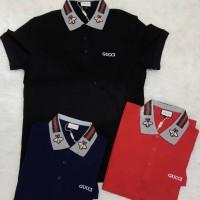 polo shirt pria GUCCI premium import