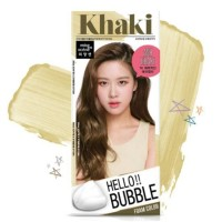 Ready Hello Bubble Hair Color 7K #khaki ash brown