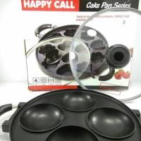 Cetakan Kue Serabi Happy Call 4 Lubang Aluminium Lapisan Teflon