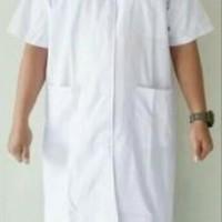 Jas Laboratorium Baju Laboratorium Lengan Pendek