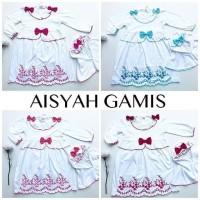 Aisyah Gamis / Gamis Hijab Anak Murah / Baju Muslim Anak Perempuan