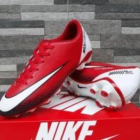 Sepatu Sepak Bola Nike Mercurial Superfly 19 Merah Putih Soccer Import