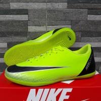 Sepatu Futsal Nike Mercurial Superfly 19 Hijau Hitam Olahraga Import