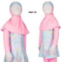 Baju Renang Anak Muslim Muslimah Ukuran 10 dan 11 Tahun Sulbi SBAP 197