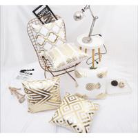 Gold Series Pillow Cushion Cover / Sarung Bantal Sofa Kursi Vintage