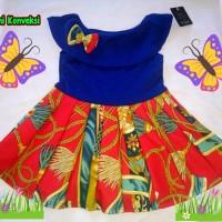 Dress Sabrina 1-2 tahun Baju anak model kerah Baju anak murah