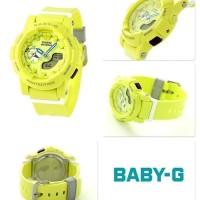 Jam Tangan Wanita Casio Baby G BGA-185 Yellow Ori Bm