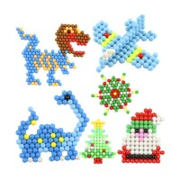 Hot Item 6000pcs Aqua Beads Solid Bead Refill Pack Water Sticky