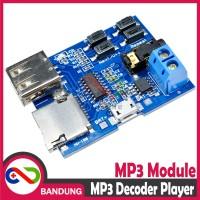 [CNC] MP3 Player Decoder Module Board Audio Flashdisk SD Card