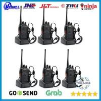 Paket 6 Unit Radio HT Handy Talky Walkie Talkie BAOFENG BF 888s 888 s