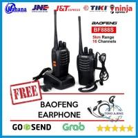 Paket 2 Unit Sepasang Radio Komunikasi Handy Talky HT BAOFENG BF 888S