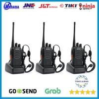 Paket 3 Unit Radio HT Handy Talky Walkie Talkie BAOFENG BF 888s 888 s