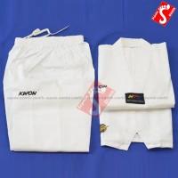 Baju Taekwondo Dobok KWON Original Kerah Putih