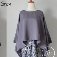 Atasan Kebaya Batwing Grey