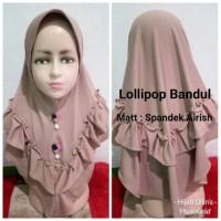 Jilbab Anak Airish Jilbab Anak Harian Lollipop Bandul Terbaru Di bul
