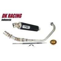 knalpot Racing Yamaha Scorpio Z PDK fullsystem High Peforma