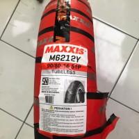 MAXXIS 90/80-16 M6122 TUBELES BAN MOTOR SKYWAVE NOUVO UK LEBAR VELG 16